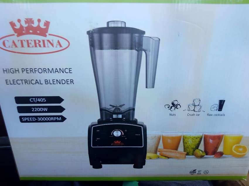 CATERINA COMMERCIAL BLENDER 2200W @17500 now 0
