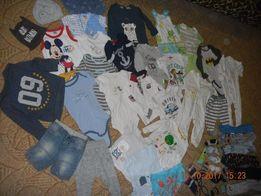 Мега пакет вещей на мальчика 74-80 см, 43 вещи