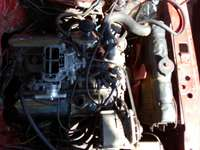 Image of Ford v6 motor,gearbox ,propshaft branch n exhust