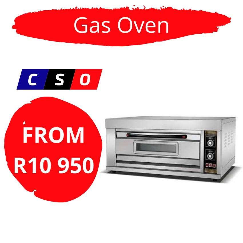 Oven 1 Deck 2 Tray Gas