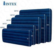 Надувной матрас Intex 191х76х22 см 850руб