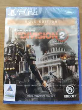 Division 2 Gold Edition PS4 New Sealed