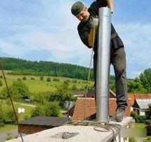 Услуги по чистке,монтажу,ремонту,гильзованию дымоходов и вентиляции