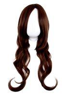 Brazowa peruka jak wlosy naturalne 67cm