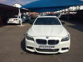 2011 white bmw 530d Automatic