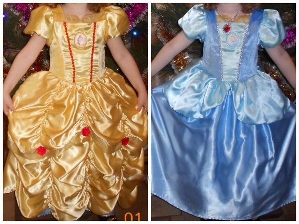 Двустороннее платье Disney Золушка Белль Новомосковск - изображение 1