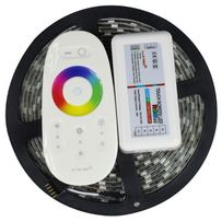 Светодиодная лента RGBW SMD 5050 rgb+w с сенсорным RF контроллером