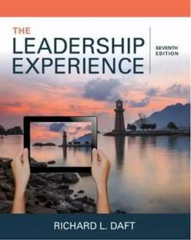 The Leadership Experience, Daft, 7th Edition