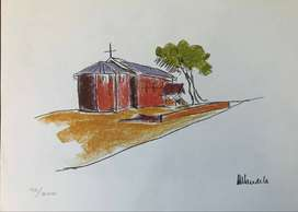 Nelson Mandela The Church from My Robben Island Limited Edition