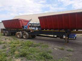 Burg Side Tipper Trailer. Its A Bargain