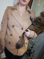 Продам короткое кашемировое женское пальто