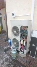 Pompa ciepla MITSUBISHI powietrze-woda do 350m2 z montazem