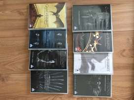 Game of Thrones dvd set S1-S8