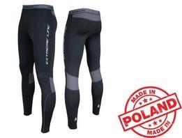 Теплые спортивные штаны Польша мужские женские для бега на флисе