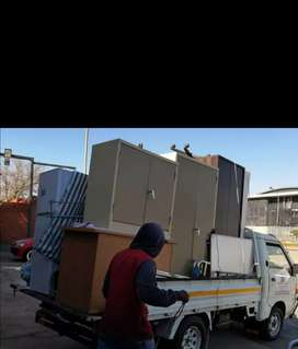 WE DELIVER FURNITURE AND GOODS LONG AND SHORT DISTANCES ALL