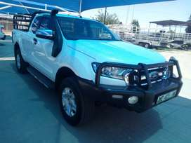 2017 Ford Ranger 3.2 TDCI XLT 4x4 Automatic Sup/Cab with 100300kms