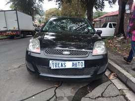 FORD FIESTA WITH AN ENGINE CAPACITY OF 1,6