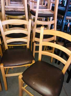 x14 Light Wooden Chairs