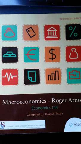Economics 144 and Theory of Interest 152 Textbook for sale