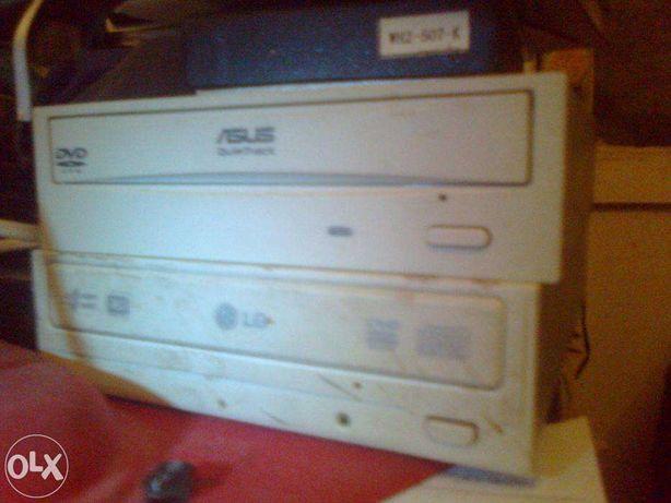 Компьютерные комплектующие , CD/DVD-ROM рабочие и нерабочие .