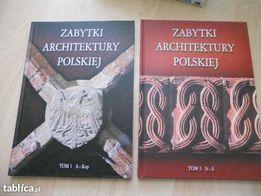 Zabytki Architektury Polskiej tom 1 nowa 9 zł/szt