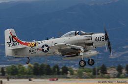 Модель самолета Douglas A-1 Skyraider. Сборная пластиковая модель 1:48