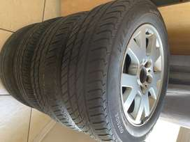 "BMW e46 / e36 rims with 15"" tyres"