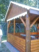 Altanka altana drewniana bieśiadna z bala