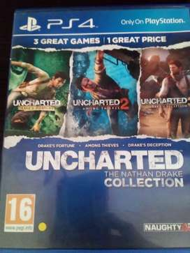 Uncharted the nathen drake collection +uncharted 4a theifs end