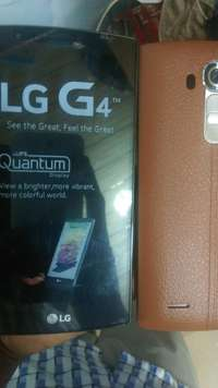 Image of Lg g4 new with accessories.