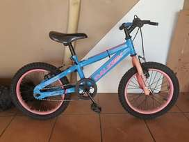 Raleigh 16inch girls MTB