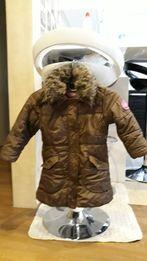 Куртка зимняя на девочку.рост 104.