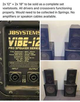 JB Systems Vive - 12 Pro Speakers