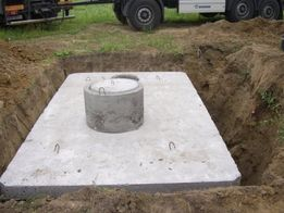 Szamba betonowe, Zbiornik betonowy na szambo, Zbiorniki na ścieki.