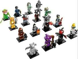 Lego Monster Fighters Series 14 Complete Set of 16 Minifigs
