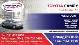 Toyota Camry Parts and Spares For Sale.