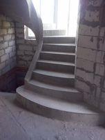 Бетонные/монолитные лестницы