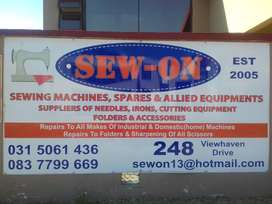 SEW ON SEWING MACHINES,SPARES AND ACCESSORIES
