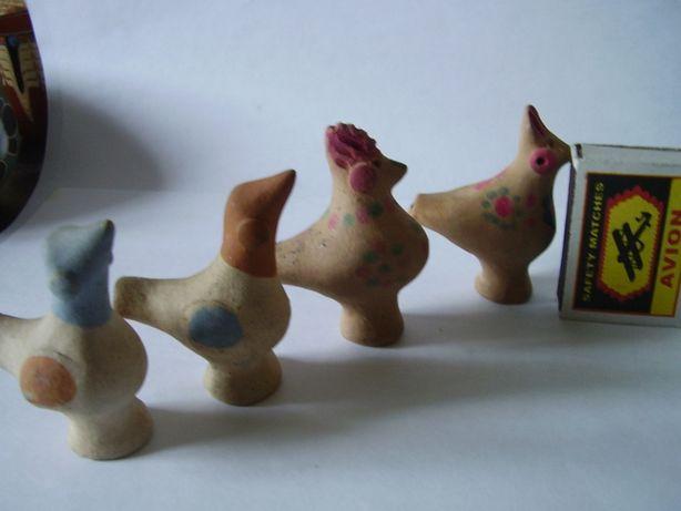 Детская глиняная музыкальная игрушка свистулька в виде птицы и собаки Донецк - изображение 3