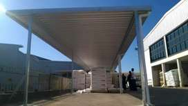 Real steal carport and awnings