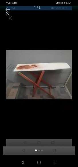 Old wooden Ironing Board