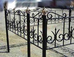 Кованые оградки!Металлические оградки,столы и лавочки