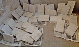 Белый мрамор брусок плитка