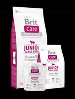 Brit Care Junior Large Breed Lamb & Rice 12kg + Gratis