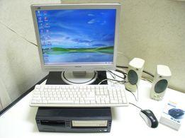 Компьютер, Монитор Philips, Intel Cel.2GHz/RAM500MB/HDD10GB/DVD-RW