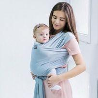 слинг шарф love&carry светло серый идеальное состояние