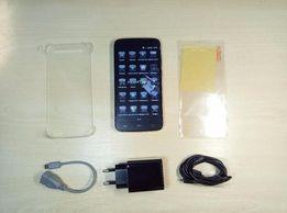 "Смартфон HomTom HT6, 5.5"" HD, 2/16Гб, 6000mAh, 8Мп SONY, бампер"