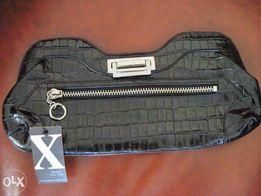 Новый кожаный брендовый клатч MAXX New York
