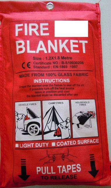 FIRE BLANKET FOR VEHICLE 0