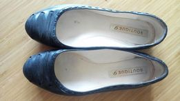 Baleriny buty skóra naturalna roz. 37